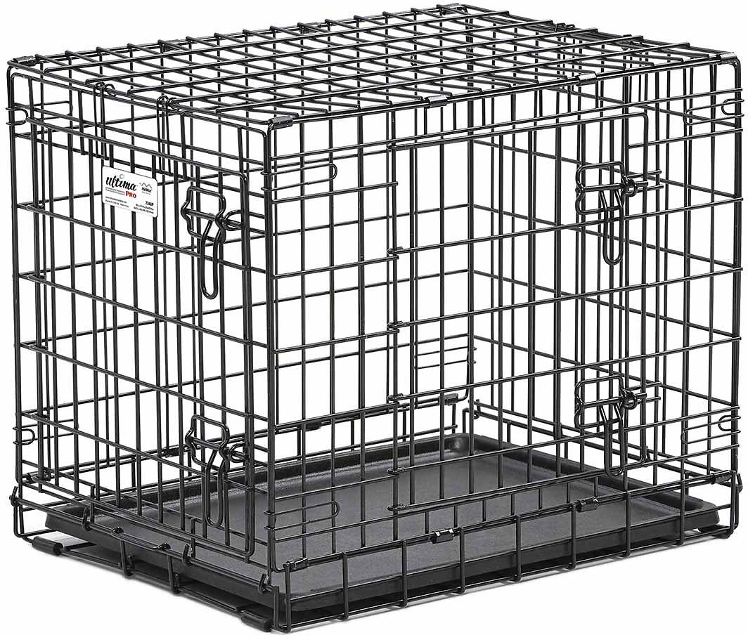 MidWest Contour Double Door Dog Crate Image