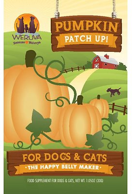 Weruva Pumpkin Patch Up! Dog & Cat Food Supplement, 1.05-oz
