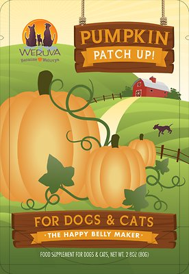 Weruva Pumpkin Patch Up! Dog & Cat Food Supplement, 2.80-oz