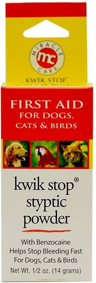 Miracle Care Kwik-Stop Styptic Powder for Dogs, Cats & Birds Image