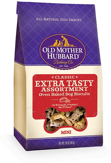 Old Mother Hubbard Classic Extra Tasty Assortment Biscuits Mini Baked Dog Treats Image