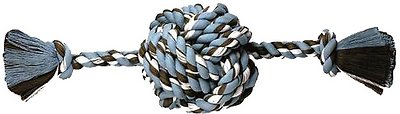 Mammoth Monkey Fist Ball & Rope Ends Dog Toy, Small