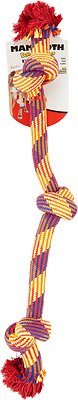 Mammoth Knot Tug Dog Toy, Color Varies, Large