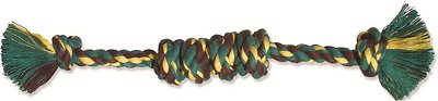 Mammoth Monkey Fist Bar Dog Toy, Color Varies, Large
