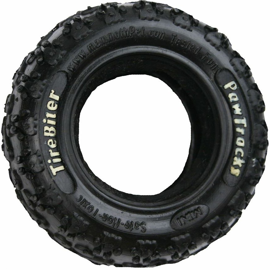 Mammoth TireBiter Tire Dog Toy Image
