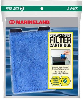 Marineland Eclipse Rite-Size Z Filter Cartridge, 3 count