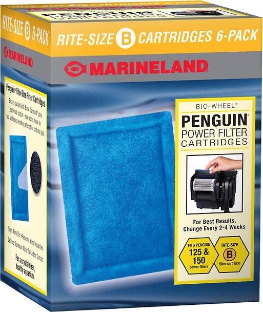 Marineland Bio-Wheel Penguin Rite-Size B Filter Cartridge Image