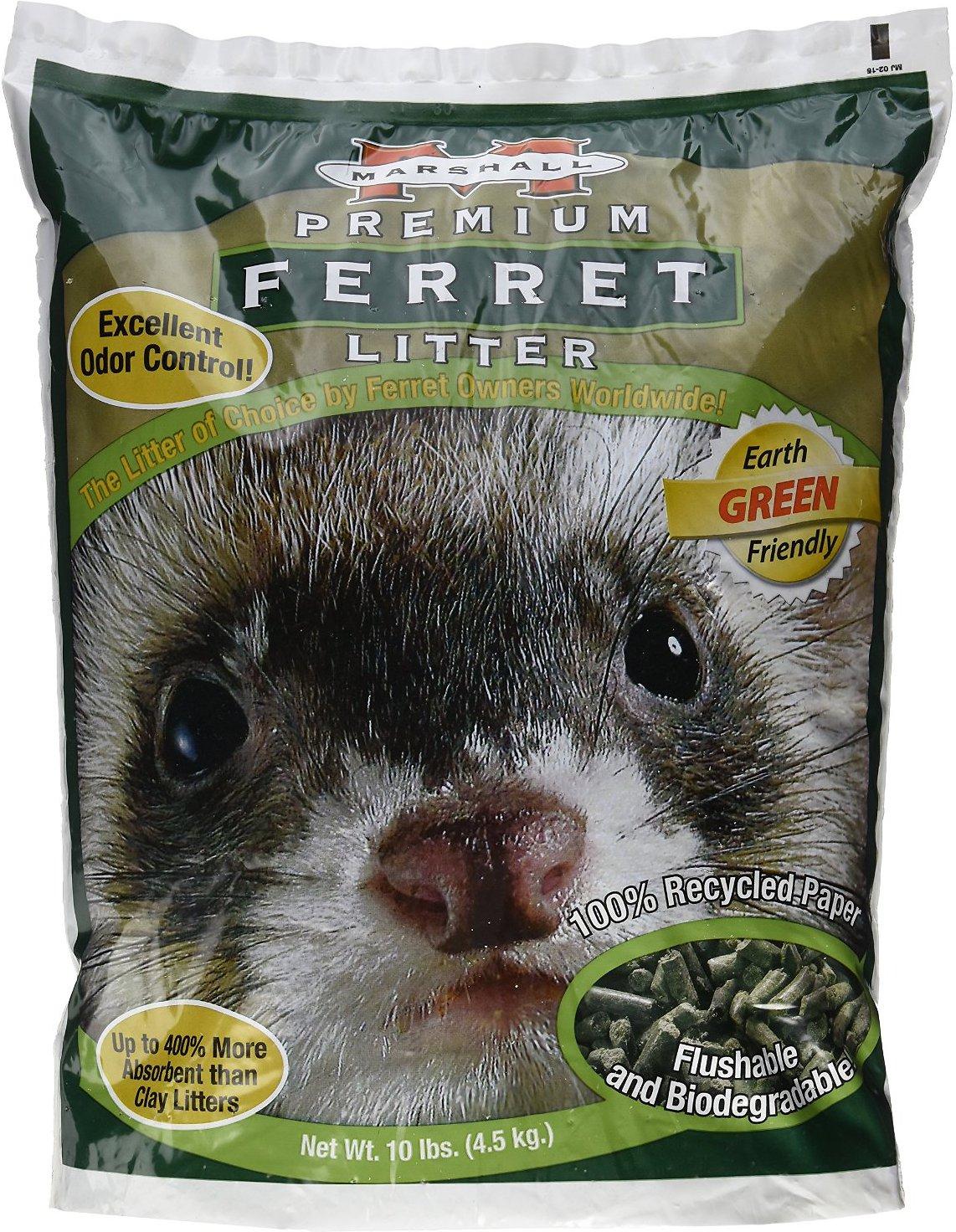Marshall Premium Odor Control Ferret Litter, 10-lb bag Image