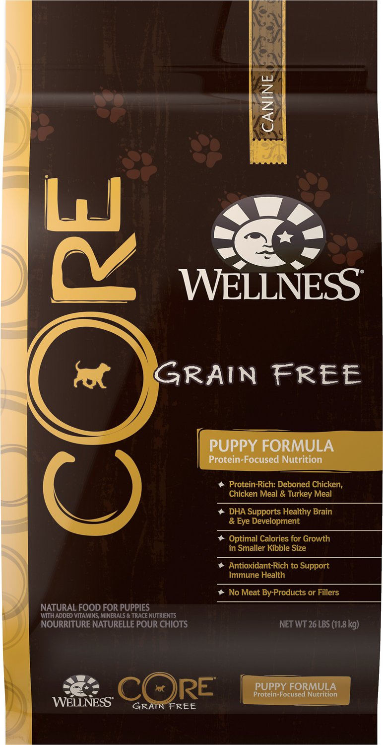Wellness CORE Grain-Free Puppy Chicken & Turkey Recipe Dry Dog Food Image