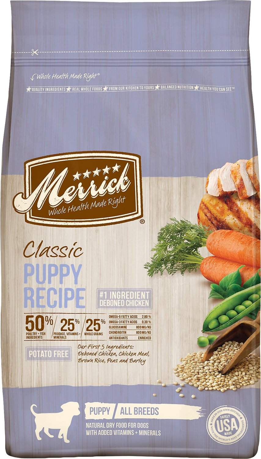 Merrick Classic Puppy Recipe Dry Dog Food Image