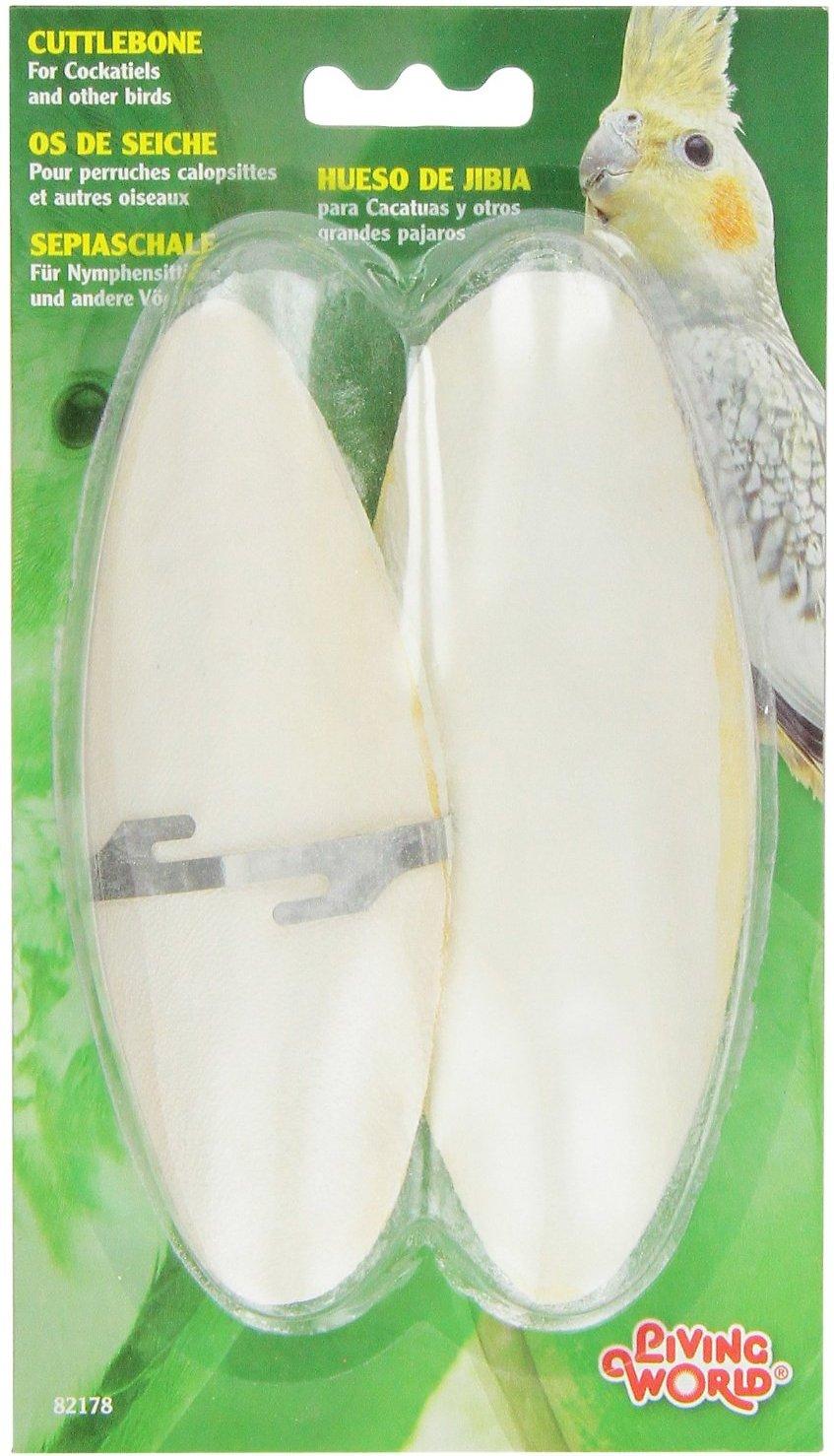 Living World Cuttlebone Bird Treat Image