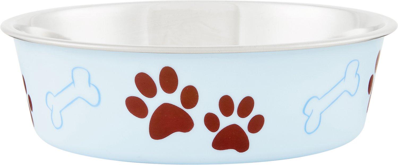 Loving Pets Bella Bowls Pet Bowl, Murano Blue Image