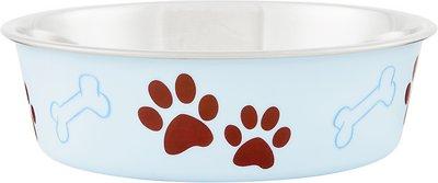 Loving Pets Bella Bowls Pet Bowl, Murano Blue, Medium