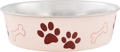 Loving Pets Bella Bowls Pet Bowl, Paparazzi Pink, Large
