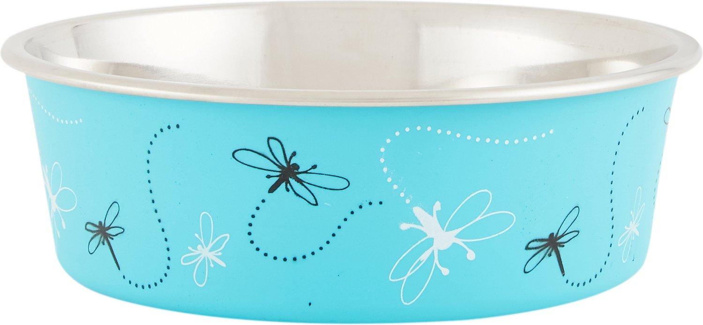 Loving Pets Bella Bowls Pet Bowl, Turquoise Image
