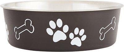 Loving Pets Bella Bowls Pet Bowl, Espresso, X-Large