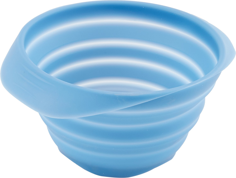 Kurgo Collaps-A-Bowl Pet Bowl, Blue