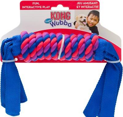 KONG Tugga Wubba Dog Toy, Color Varies, Large