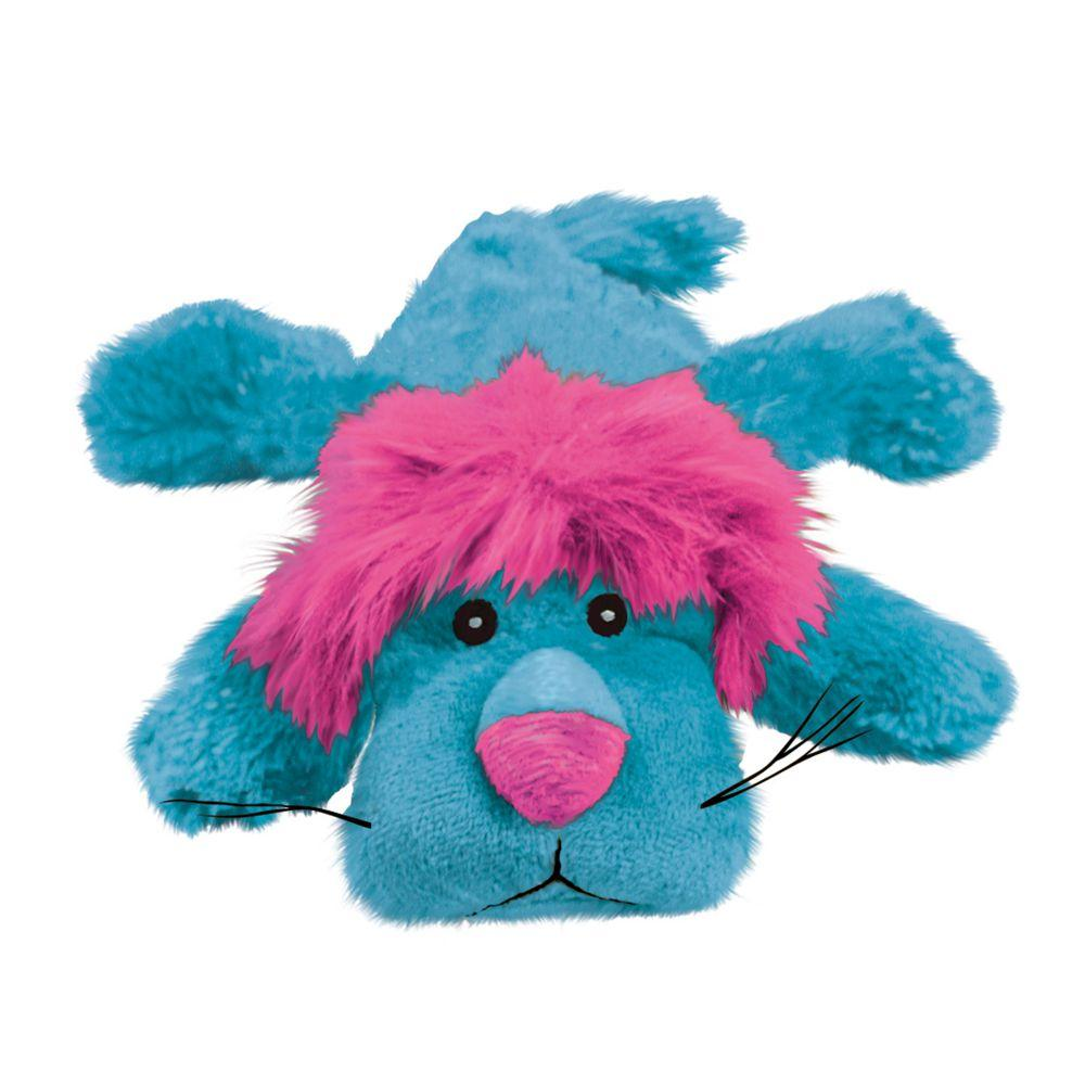 KONG Cozie King the Purple Haired Lion Dog Toy, Medium