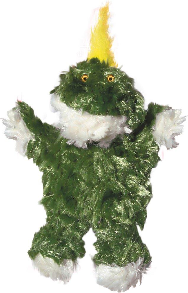 KONG Plush Frog Dog Toy Image