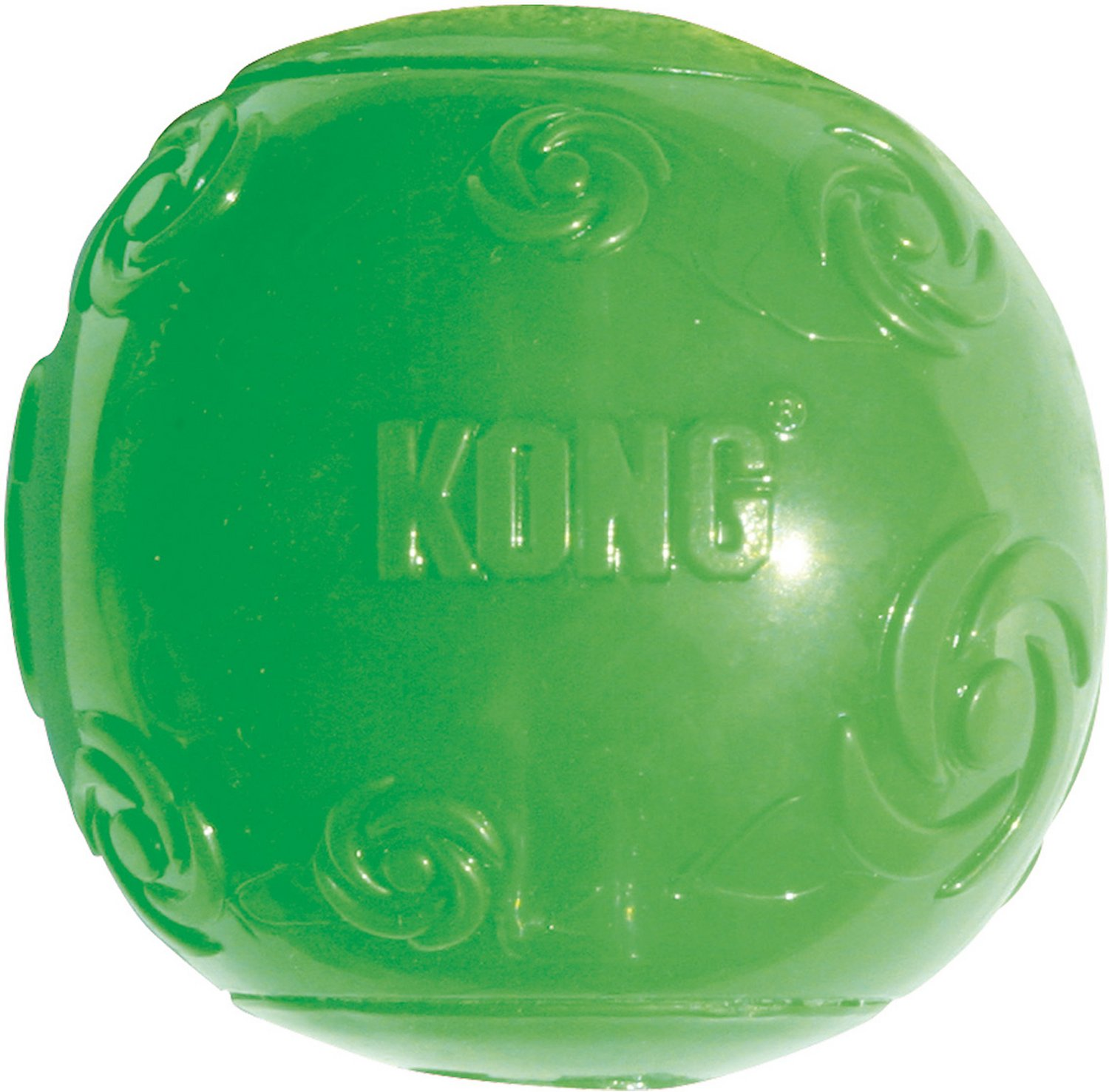 KONG Squeezz Ball Dog Toy, Color Varies Image