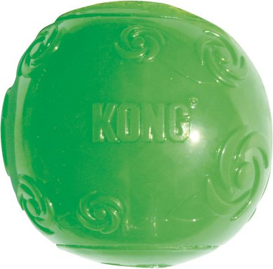 KONG Squeezz Ball Dog Toy, Color Varies, Medium