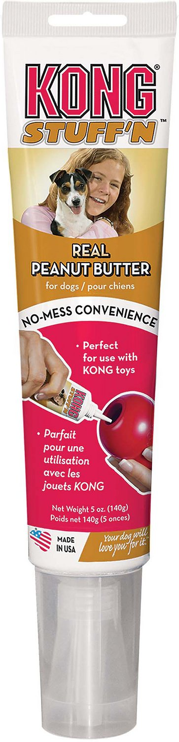 KONG Stuff'N Real Peanut Butter Treat, 5-oz tube