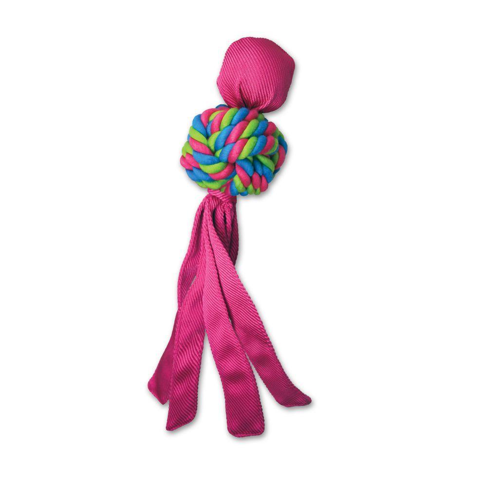 KONG Wubba Weaves Dog Toy, Color Varies, Small