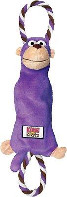 KONG Tuggerknots Monkey Dog Toy, Medium/Large