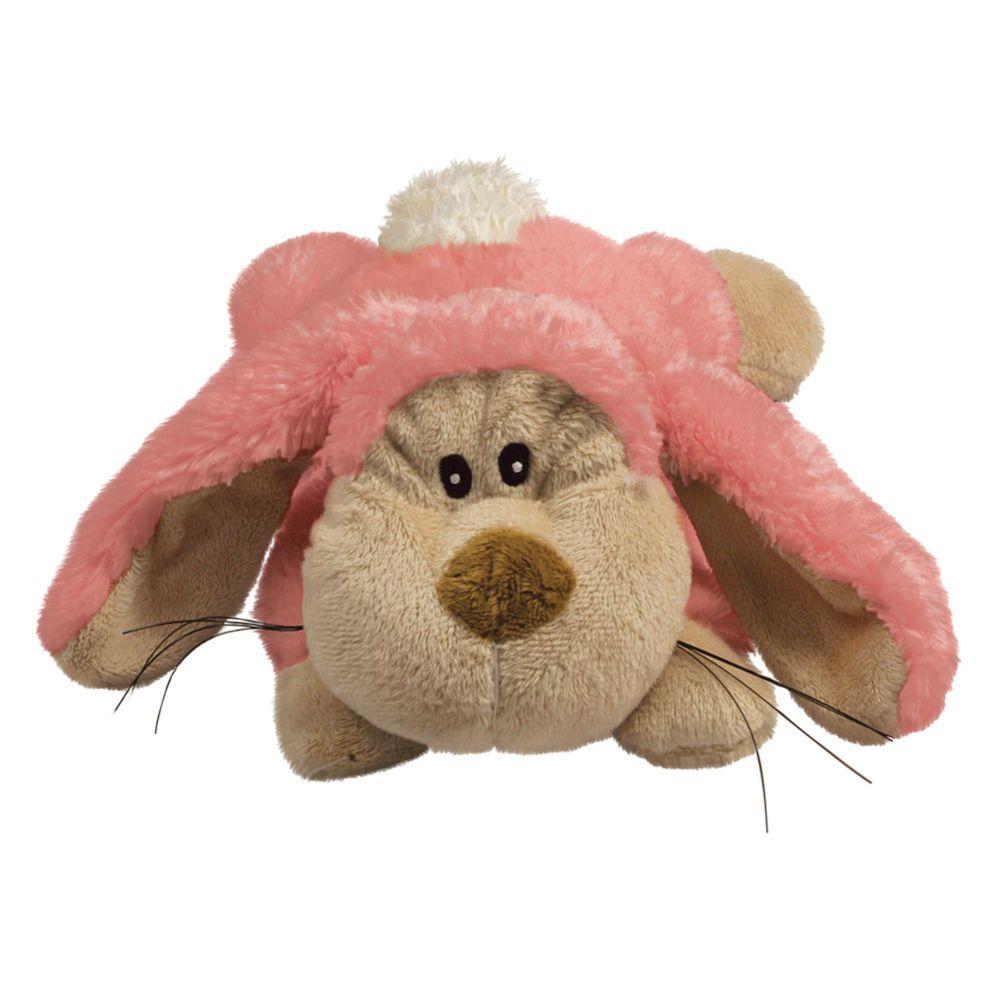 KONG Cozie Floppy the Rabbit Dog Toy