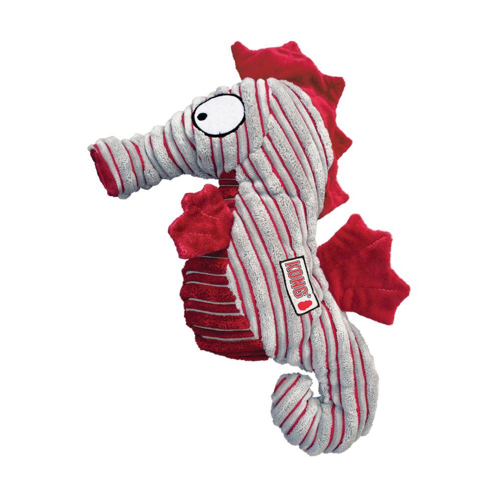 KONG CuteSeas Seahorse Dog Toy, Small
