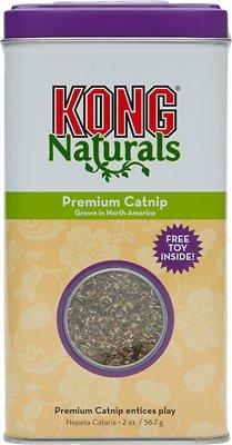 KONG Naturals Premium Catnip, 2-oz tin