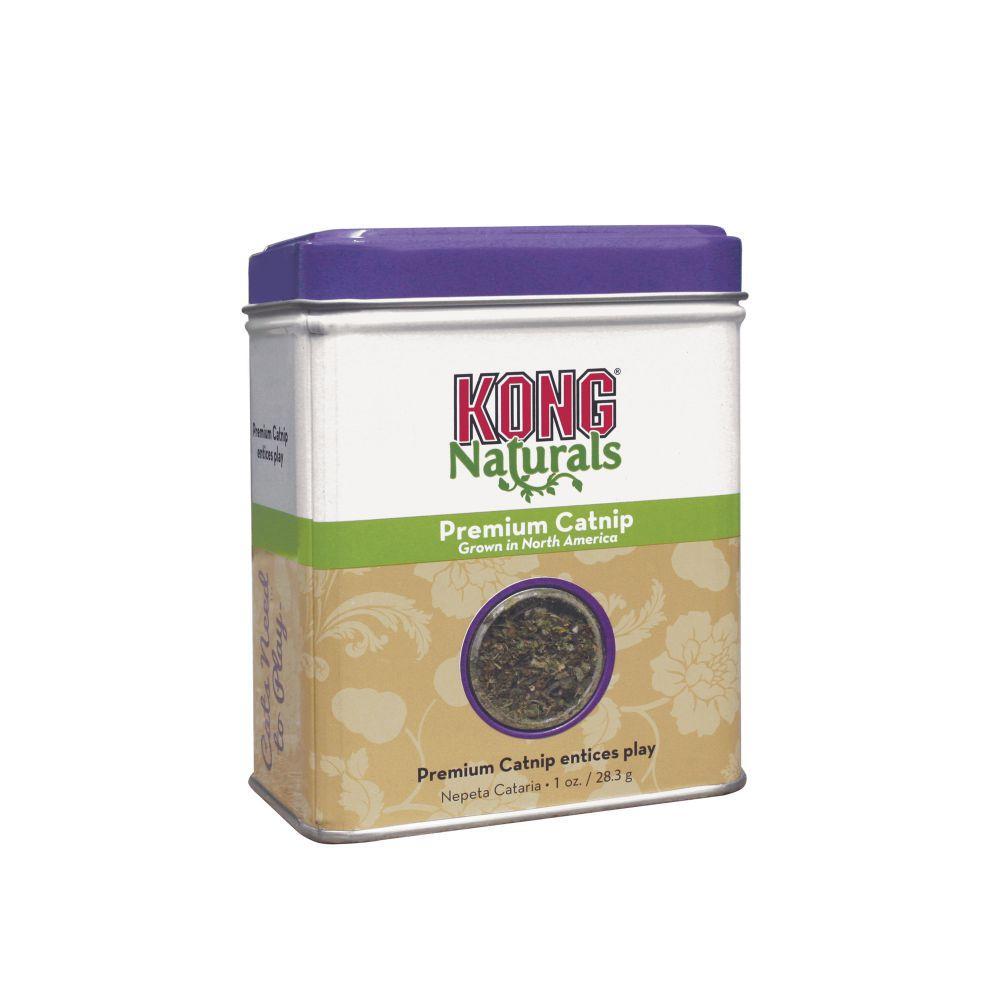 KONG Naturals Premium Cat Catnip, 1-oz tin