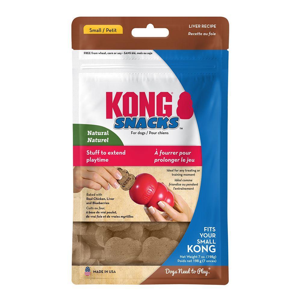 KONG Snacks Liver Dog Treats, Small