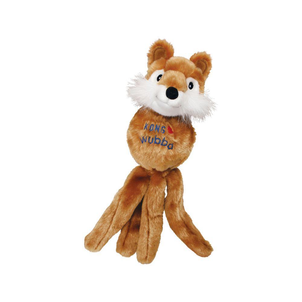 KONG Wubba Friends Dog Toy, Character Varies, Small