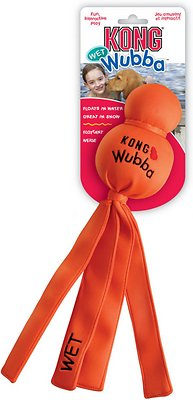 KONG Wet Wubba Dog Toy, Color Varies, Large