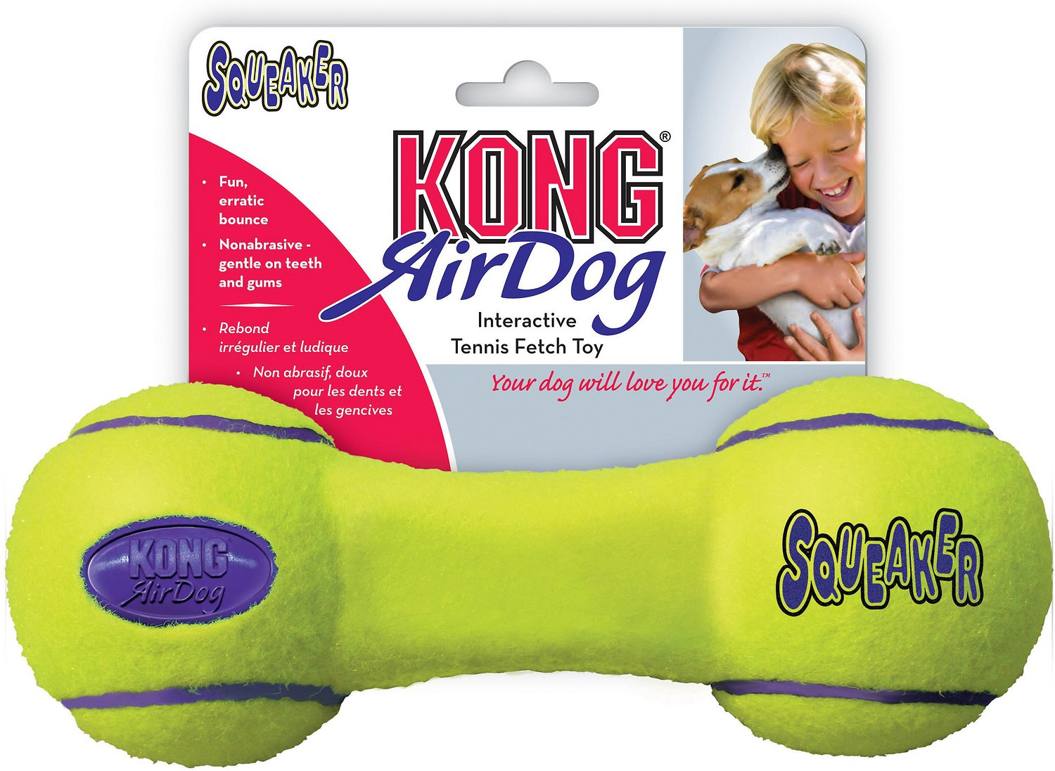 KONG AirDog Dumbbell Dog Toy Image