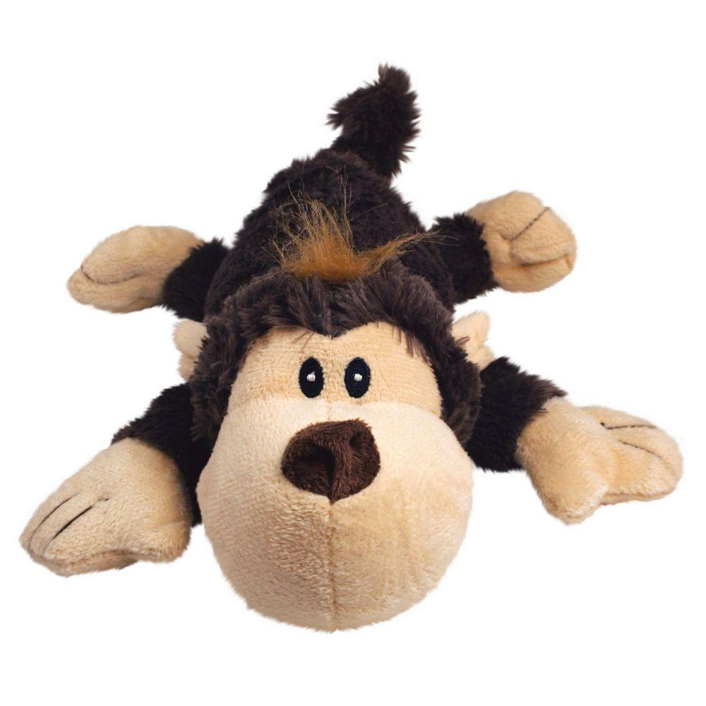 KONG Cozie Funky the Monkey Dog Toy, Small