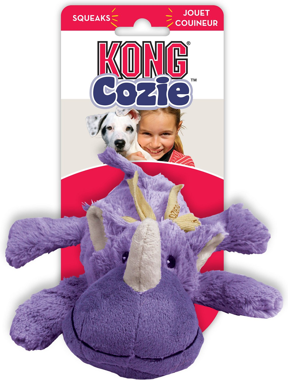 KONG Cozie Rosie the Rhino Dog Toy Image