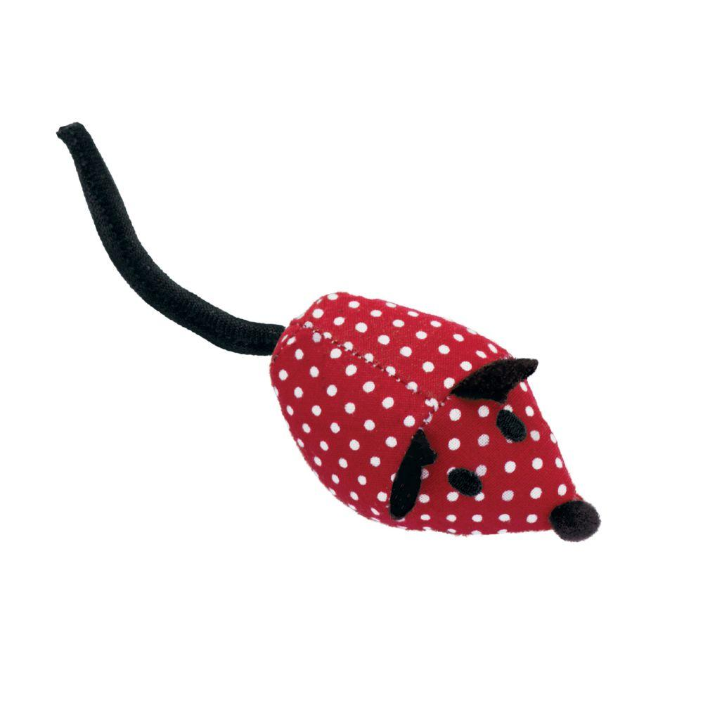KONG Softies Mice Cat Toy, Color Varies, 2 pk Image