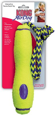 KONG AirDog Fetch Stick with Rope Dog Toy, Large