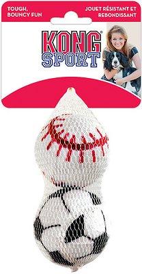 KONG Sport Balls Pack Dog Toy, Large