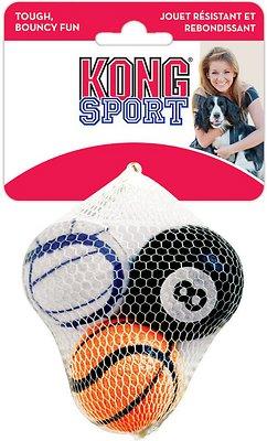 KONG Sport Balls Pack Dog Toy, Medium