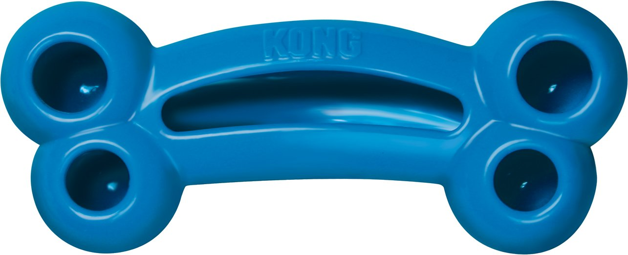 KONG Quest Bone Dog Toy, Color Varies Image