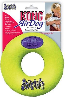 KONG AirDog Donut Dog Toy, Medium