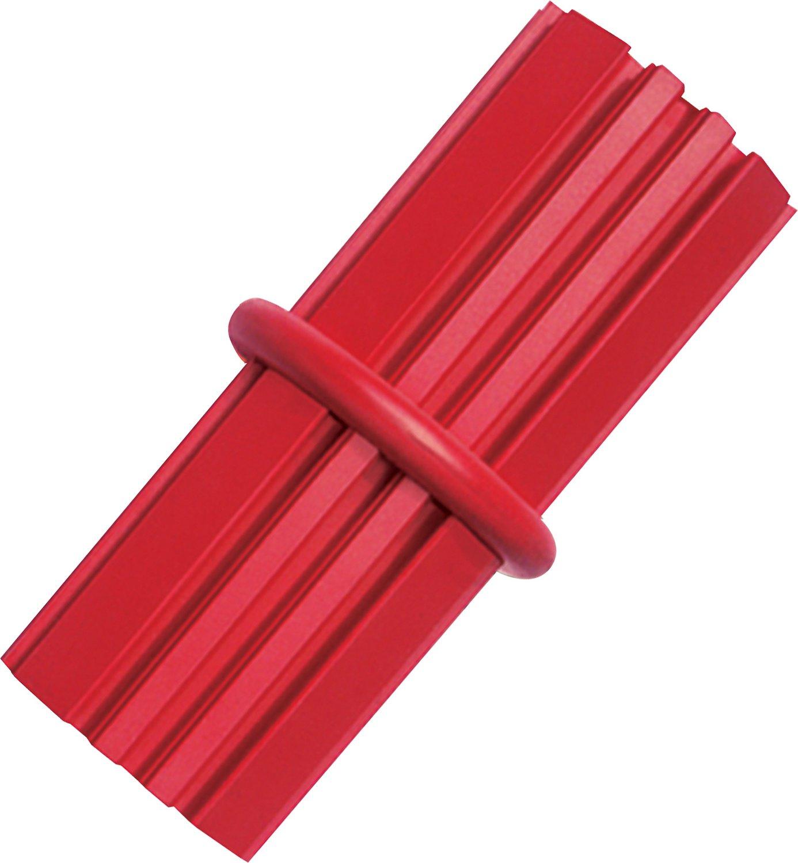 KONG Dental Stick Dog Toy, Red Image