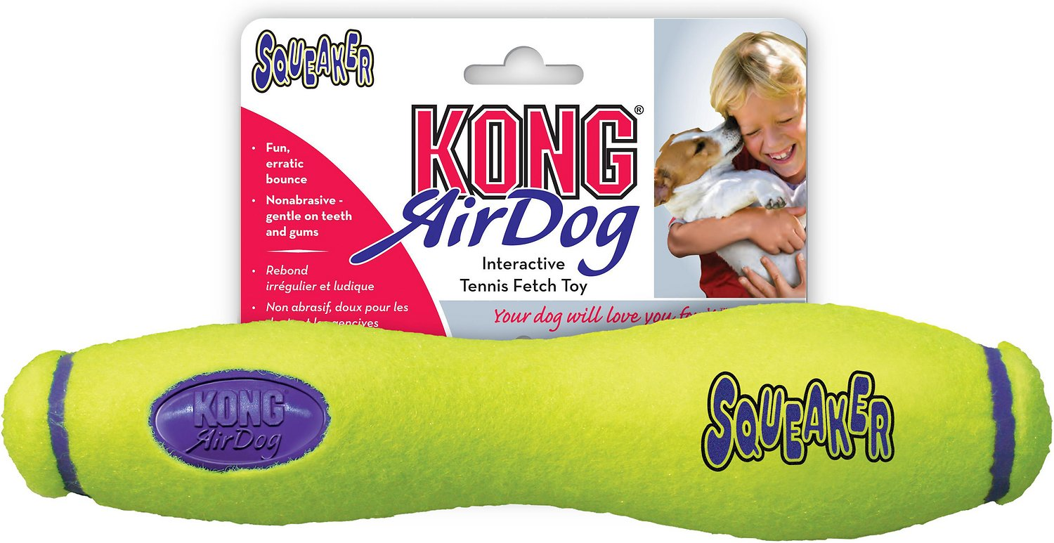KONG AirDog Squeaker Stick Dog Toy Image