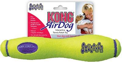 KONG AirDog Squeaker Stick Dog Toy, Medium