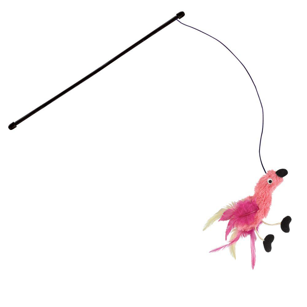 KONG Active Feather Teaser Cat Toy, Color Varies