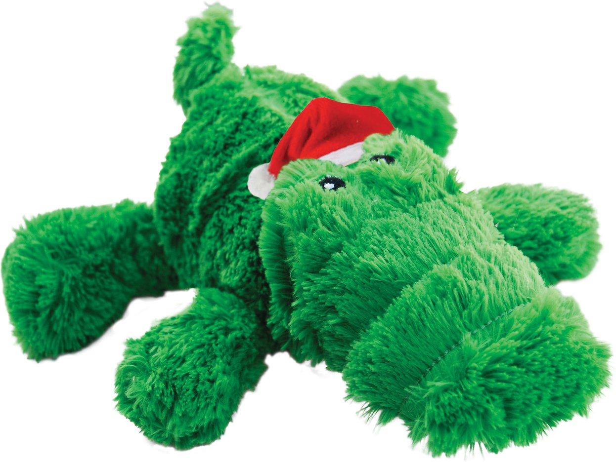 KONG Holiday Cozie Alligator Dog Toy, X-Large